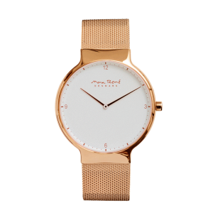 Bering Ladies' or Men's Max Rene Rose Gold Mesh Strap Watch