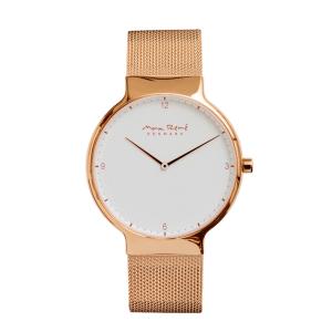 Bering Ladies' or Men's Max Rene Rose Gold Mesh Strap Watch