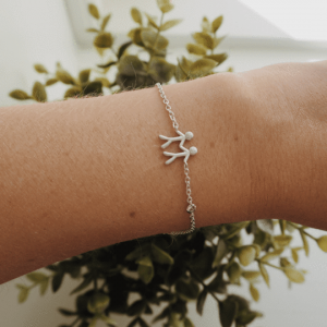 byBiehl Together My Love Silver Bracelet