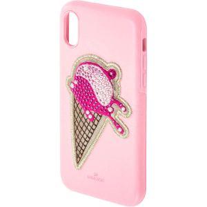 Swarovski No Regrets Smartphone Case, iPhone® X, Pink