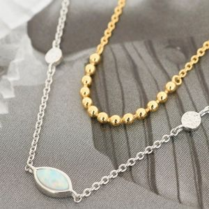 Ania Haie Opal Colour Bracelet, Silver B014-02H