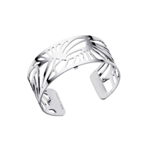 Les Georgettes Palmeraie 25mm  Silver Finish Bangle