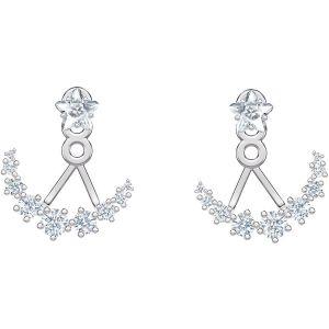 Swarovski Penelope Cruz Moonsun Earrings, White, Rhodium Plating