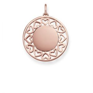 Thomas Sabo 'Hearts' Pendant, Rose