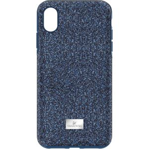 Swarovski High Smartphone Case with Bumper. iPhone® XS Max, Blue 5449136
