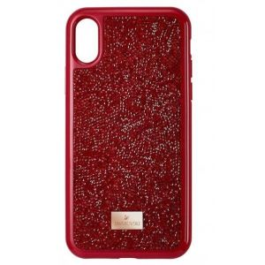 Swarovski Glam Rock Smartphone Case, iPhone® XR, Red