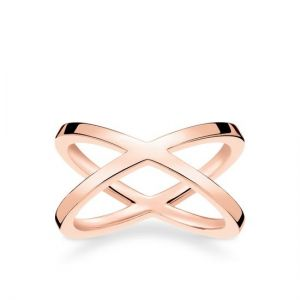 Thomas Sabo Crossover Ring, Rose Gold