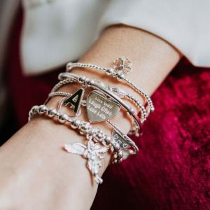 Annie Haak Sama My Guardian Angel Bracelet Stack - Live Well