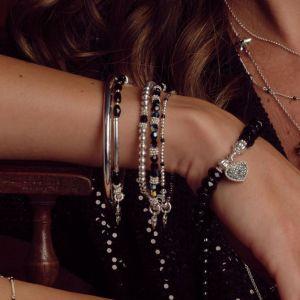 Annie Haak Serasi Black Silver Bracelet
