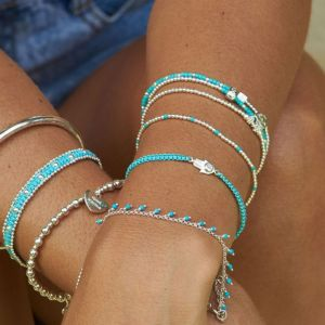 Annie Haak Serasi Turquoise Silver Bracelet