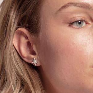 Thomas Sabo Star Ear Studs, Silver