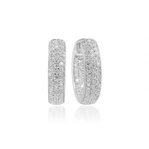 Sif Jakobs Earrings Imperia with white zirconia