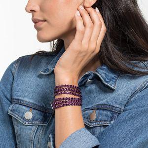 Swarovski Power Collection Slake Bracelet, Purple