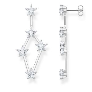 Thomas Sabo Star Earrings, Silver
