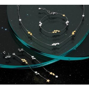 Kit Heath Stargazer Stellar Two Tone Necklace