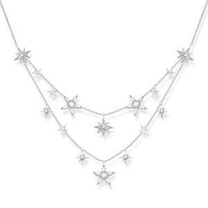 Thomas Sabo Stars Necklace, Silver