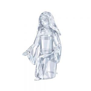 Swarovski Crystal Mary in the Nativity Scene