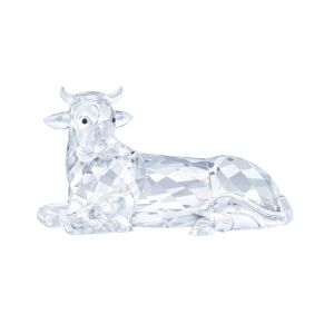 Swarovski Crystal the Ox In The Nativity Scene