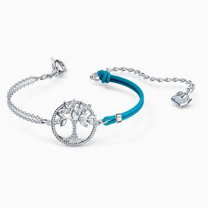 Swarovski Symbolic Tree of Life Bracelet - Rhodium Plating