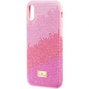 Swarovski High Love Smartphone Case, iPhone® XS Max, Pink