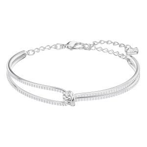 Swarovski_Lifelong_Bangle_Rhodium