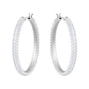 Swarovski_Stone_Hoop_Earrings_Rhodium.