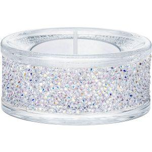 Swarovski Crystal Shimmer Tea Light Holder, Crystal AB