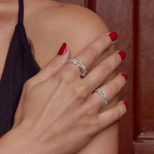 Annie Haak The Doris Ring Stack