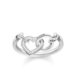 Thomas Sabo 'Together Heart' Ring, Silver