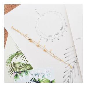 Ania Haie Tropic Double Bracelet, Silver