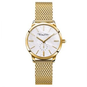 Thomas Sabo Women's Glam Spirit Watch, Mesh Gold