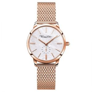Thomas Sabo Women's Glam Spirit Watch, Mesh Rose Gold