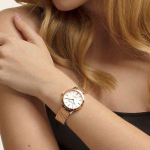 Thomas Sabo Women's Glam Spirit Watch, Mesh Rose Gold