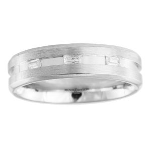 Brown & Newirth 'Orion' Mens Wedding Band, For Him
