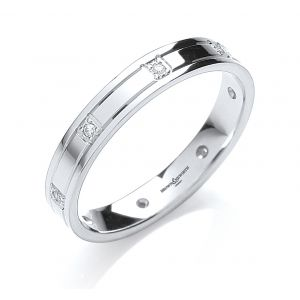 Brown & Newirth 8 Diamond Wedding Band