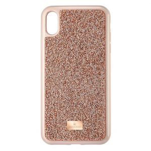 Swarovski Glam Rock Smartphone Case, iPhone® XS Max, Pink Gold