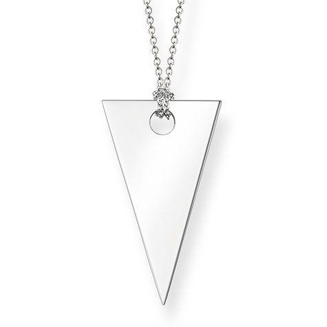 Thomas Sabo triangle necklace