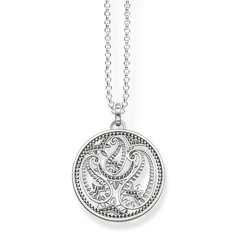 Thomas Sabo Paisley Design Necklace   KE1543-001-12