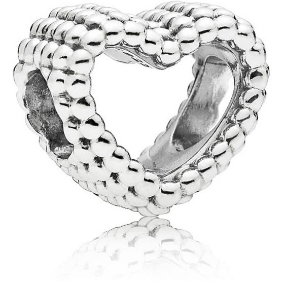 Pandora Beaded Open Heart Charm 797516