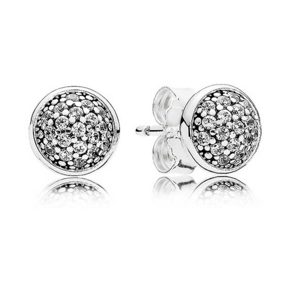 Pandora Pavé Stud Earrings 290726CZ