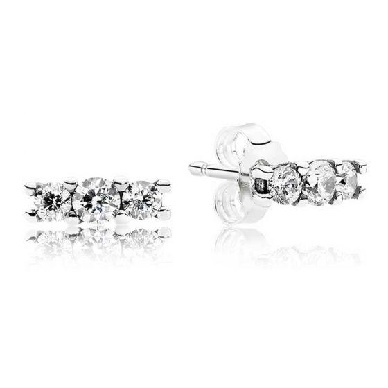 Pandora Sparkling Stud Earrings 290725CZ