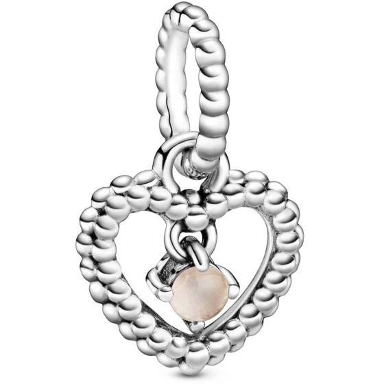 Pandora June Birthstone Heart Dangle Charm 798854C06