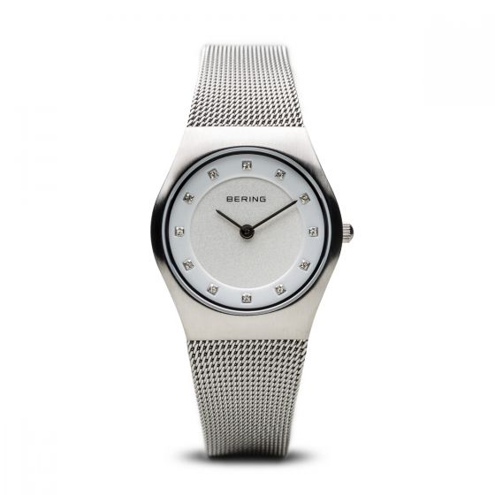 Bering Ladies Classic Silver Milanese Watch 11219-000