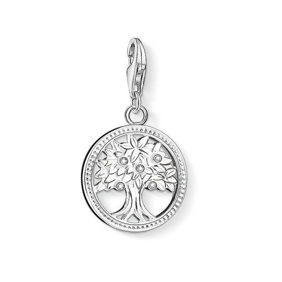 Thomas Sabo Charm Pendant, Silver Tree 1303-051-14