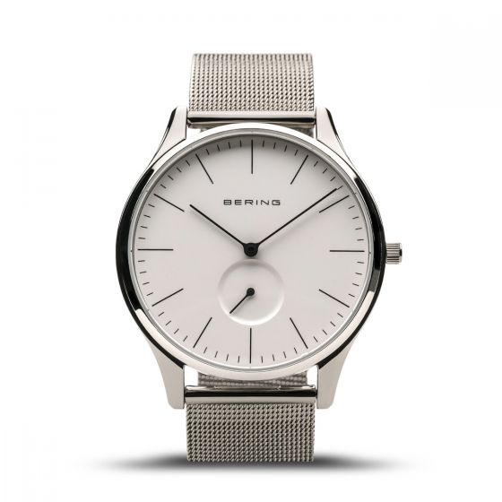 Bering Mens Classic Watch - Polished Silver - 16641-004