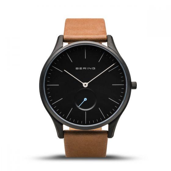 Bering Mens Classic Watch - Mat Black - 16641-522