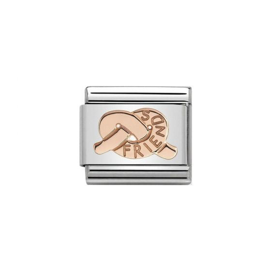 Nomination Classic Symbols Stainless Steel and 9k Gold Knot of Friend 430104_29