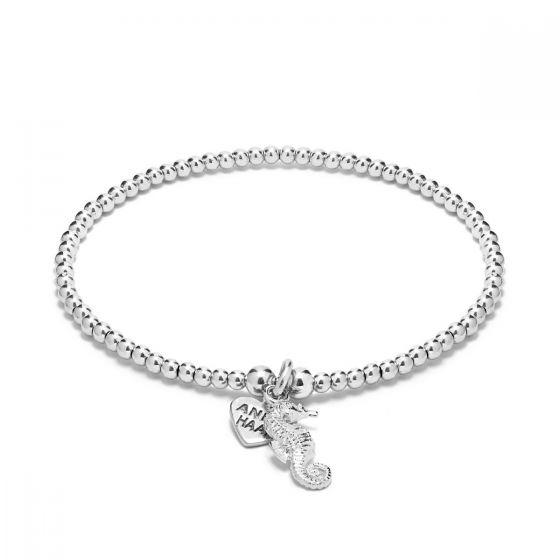 Annie Haak Santeenie Silver Charm Bracelet - Seahorse