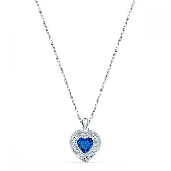 Swarovski Anniversary Sapphire Heart Necklace 551541