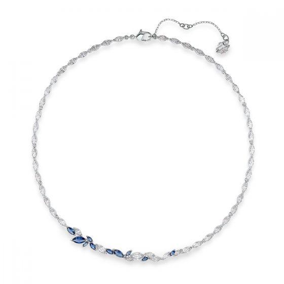 Swarovski Anniversary Louison Necklace 2020 - Blue and White - 5536547